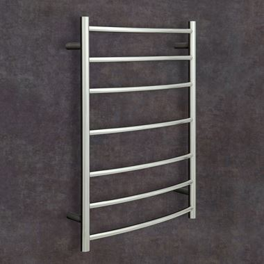 Thermosphere Curved Dry Electric Towel Rail - 800 x 600mm