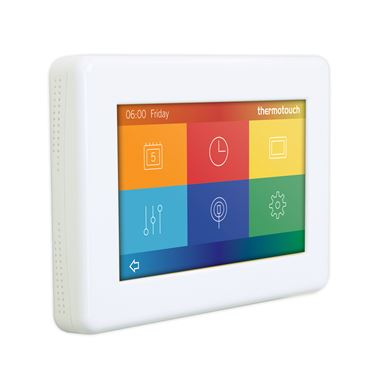 Thermosphere 4.3dC Dual Control Thermostat - Ice White