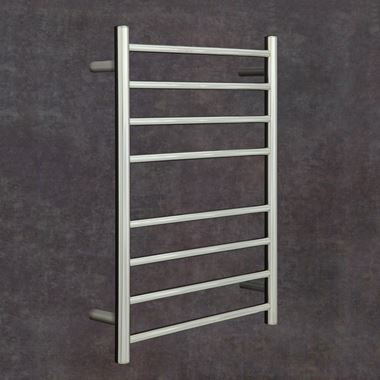 Thermosphere Round Profile Dry Electric Towel Rail - 700 x 530mm