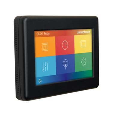Thermosphere 4.3dC Dual Control Thermostat - Satin Black