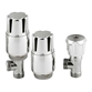Ultra Thermostatic Radiator Valves - Angled