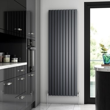 Brenton Flat Double Panel Vertical Radiator - 1800 x 590mm